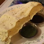 savory nepalese crackers