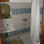 Bathroom... always hot water!