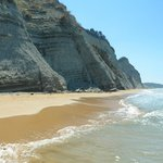 The gorgeous beach - worth the walk!