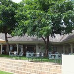 terrace dining tables, Ilala Lodge