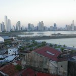 Panama City from the roof-top