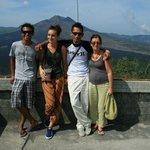 Avec wayan et ma famille