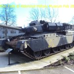 Chieftan main battle tank