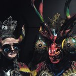 Diablada Mask from Chile