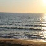Pôr-do-sol no Hotel Restaurante Praia Azul