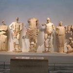 Statue frontone Tempio di Zeus