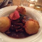 beef with potatoe dumplings