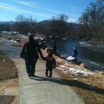 My family enjoyed the Riverside walk