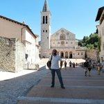 La bella piazza di Spoleto
