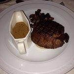 Steak at the Carlton Restaurant @ The Washington Central in Workington