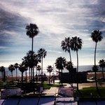 Gorgeous view onto the Venice Beach
