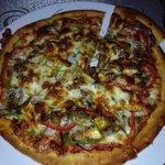 BBQ Lamb Pizza :)