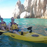 Kayaking in Cabo San Lucas--Hightide excursion