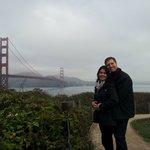 Golden Gate às 8:30 da manhã