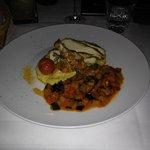 Maispoularde mit Ratatouille und Polenta