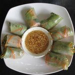 Fresh spring rolls - very good