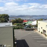 View of Hobart Bay from the second floor room