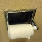 Crusty corroded dirty nasty TP holder, Scary~!