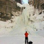Taughannock Falls - Frozen - February 2014