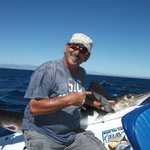 Tony with the first Marlin