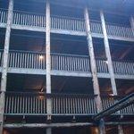 Decks seen from inside