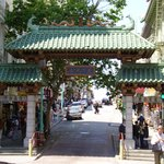 Entrance to Chinatwon