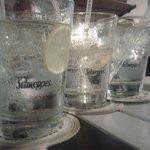 Gin tonics at soul bar cafe