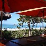 Hotel bar by the beach
