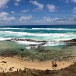 Fun times at the Champagne Pools