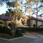 Villa front exterior