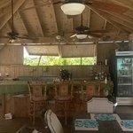 Tiki Bar and dining area