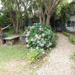 Outside Garden Area of Posada Valizas