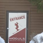 entrance to moguls