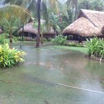 Resort flooding