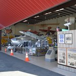 The front of the Western Museum of Flight.
