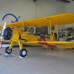 Another gem. A fully operational Navy bi-plane.