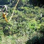 Long ziplines (280 meters)