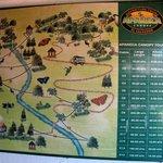 Zipline Route Map