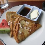 The French Toast breakfast