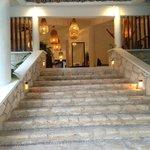 Entrance to lobby