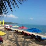 Beachview from Hammock restaurant