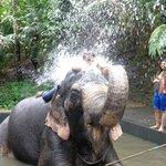 Shower with Rambha