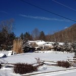 Maggie Valley in the snow