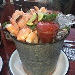 Joe Jack's 1 lb. Peel and Eat Shrimp Bucket...beautiful and delcious!