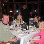 Great fondu dinner at the Fairmont