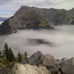 Above the clouds on top of Mt. Jenner - Konigssee area