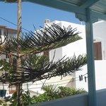 En Naxos todo es blanco y azul.