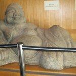 Buddha display inside
