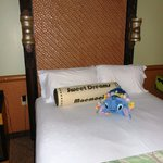My Stitch pillow pet fit right in (you get a lei upon check in!)