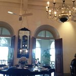 dining area too